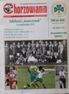 "100 years of AKS Chorzow (Weekly magazine ""Chorzowianin"" 22.10.2010)"