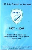 100 years of football in city Luxembourg 1907-2007 DVD film