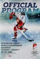 2018 IIHF Ice Hockey World Championship Budapest Division I (Group A) official program