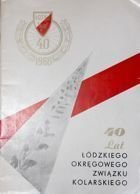 40 years of Lodz District Cycling Association