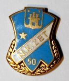 50 years of NK ZET Zagreb (enamel with signature)