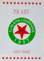 75 years of TJ Slavia Lounovice 1927-2002 (Czech Republic)