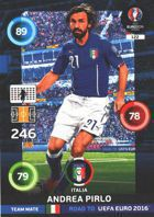 Andrea Pirlo - Italy (nr 122 - Team Mate)