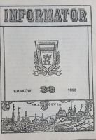 Bulletin of Polish Sport Souvenirs Collectors Association - volume 38 (1990)