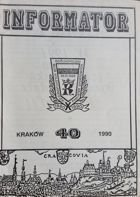 Bulletin of Polish Sport Souvenirs Collectors Association - volume 40 (1990)