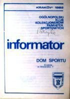 Bulletin of Polish Sport Souvenirs Collectors Association - volume 6 (1982)