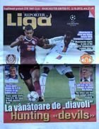 CFR Cluj - Manchester United UEFA Champions League matchday magazine (02.10.2012)