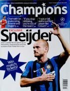 Champions. The official UEFA Champions League magazine nr 43 (October/November 2010)