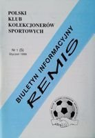 """Draw"" - Bulletin of Polish Sport Souvenirs Collectors Club - volume 1(5) (January 1999)"