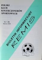 """Draw"" - Bulletin of Polish Sport Souvenirs Collectors Club - volume 1(9) (March 2000)"