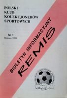"""Draw"" - Bulletin of Polish Sport Souvenirs Collectors Club - volume 1 (March 1998)"