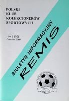 """Draw"" - Bulletin of Polish Sport Souvenirs Collectors Club - volume 2(10) (June 2000)"
