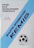 """Draw"" - Bulletin of Polish Sport Souvenirs Collectors Club - volume 2(6) (June 1999)"