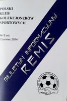 """Draw"" - Bulletin of Polish Sport Souvenirs Collectors Club - volume 2(66) June 2014"