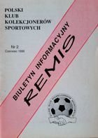 """Draw"" - Bulletin of Polish Sport Souvenirs Collectors Club - volume 2 (June 1998)"