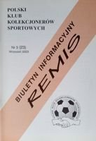 """Draw"" - Bulletin of Polish Sport Souvenirs Collectors Club - volume 3(23) (September 2003)"