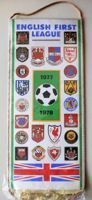 English First League 1977-1978 pennant