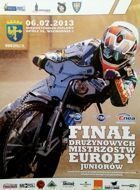 European Junior Speedway Teams Championships Final official programme (06.07.2013, Opole)