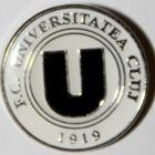 FC Universitatea Cluj (white, pin; official product)