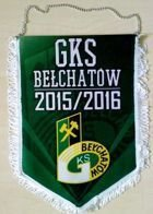 GKS Belchatow 2015/2016 season pennant (official product)