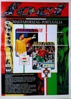 Hungary - Portugal UEFA Euro 2000 qualifying match magazine (05.09.1998)