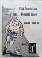 Irish Association Football Guide. Season 1965-66