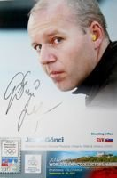 Jozef Gonci (shooting) - Double Olympic Bronze Medalist Atlanta 1996 & Athens 2004 (with original autograph)