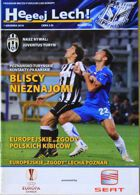 KKS Lech Poznan - Juventus Turin (01.12.2010) - Programme of Europa League group stage match
