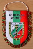 KS Hetman Zamosc pennant (original product)
