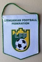 Lithuanian Football Federation pennant