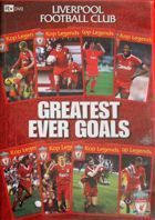 Liverpool FC. Greatest ever goals DVD film (official product)