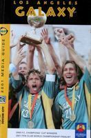 Los Angeles Galaxy 2001. Media Guide