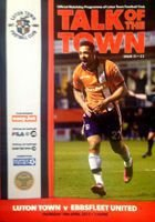 Luton Town - Ebbsfleet United (18.04.2013) - Official Conference National match programme