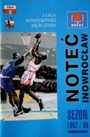 Notec Inowroclaw. First league basketball season 1997/98