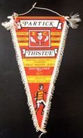 Partick Thistle FC old pennant