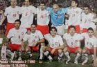 Photo of the Poland national football team before UEFA Euro 2008 qualifying match vs Portugal (Chorzow, 11.10.2006)