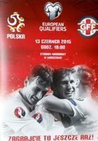 Poland - Georgia UEFA Euro 2016 qualifying match programme (13.06.2015)