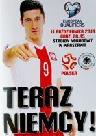 Poland - Germany UEFA Euro 2016 qualification official match programme (11.10.2014)