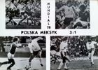 Poland - Mexico 3:1 World Cup 1978 (football) postcard