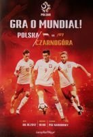 Poland - Montenegro FIFA World Cup 2018 qualifying match programme (08.10.2017)