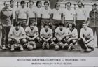 Poland National Handball Team - The Bronze medalists of Olympic Games Montreal 1976 postcard