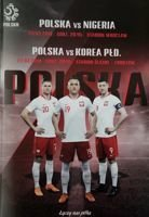 Poland - Nigeria and Poland - South Korea friendly matches (23 and  27.03.2018) official programme