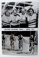 Poland Team - World champions Mettet 1975 (cycling) postcard
