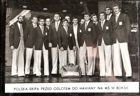 Poland Team of I World Amateur Boxing Championships Havana 1974 postcard