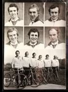 Poland Team of XXVII Cycling Peace Race (1974) postcard