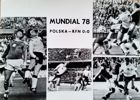 Poland - West Germany 0:0 World Cup 1978 (football) postcard