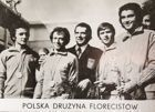 Poland foil team - Gold medallists of Summer Olympic Games Munich 1972 postcard