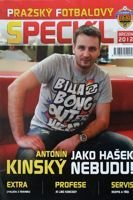 """Prague Football Special"" monthly magazine (March 2012)"