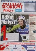 """Przeglad Sportowy"" special edition - The 69. Plebiscite of the 10 best Polish sportsman's 2003"