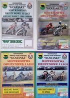 RKS Kolejarz Rawicz I and II speedway league match programmes (2000-2002)